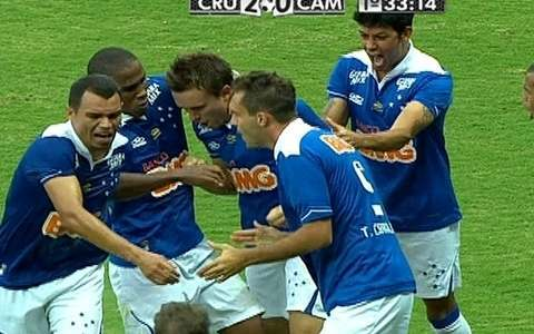 Cruzeiro vence por 2 a 1, 
