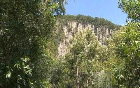Com mais de 200 metros de altura, Perau de Janeiro impressiona