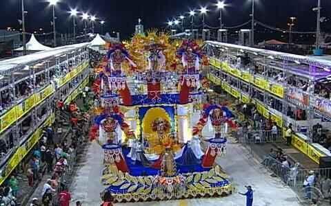 Veja o compacto do desfile da escola União da Vila do IAPI