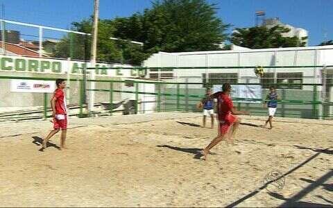 Futevôlei marca presença nos Jogos Escolares TV Sergipe pela primeira vez