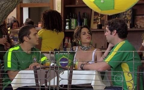 Luciana decide ficar com Fábio e Omar