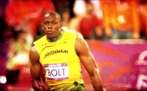Astro Usain Bolt será a atração do Esporte Espetacular. neste domingo pela manhã