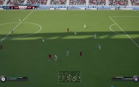 Fifa 16 - Gameplay mostra futebol feminino no jogo