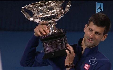 Djokovic conquista seu sexto título do Aberto da Austrália