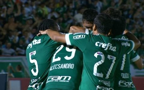 No Santa Cruz, Botafogo perde para Palmeiras em estreia no Campeonato Paulista