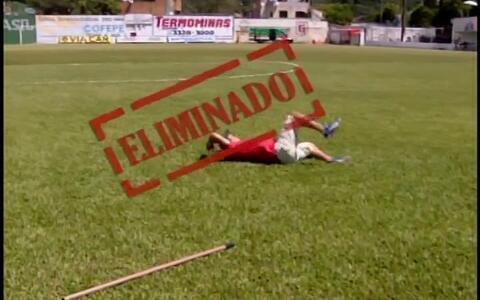 Antes de vitória, torcedores do Guarani-MG disputam Desafio do Esporte