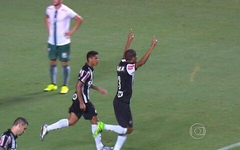 Atlético-MG vence Caldense por 2 a 0 e assume a liderança do Campeonato Mineiro