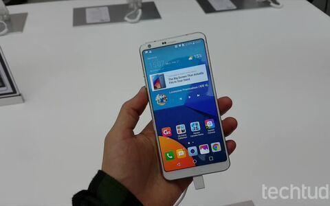 Primeiras impressões do top de linha LG G6