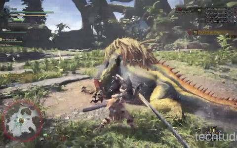Monster Hunter: World - Gameplay comentado