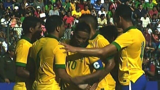 Os gols de Bolívia 0 x 4 Brasil em amistoso internacional