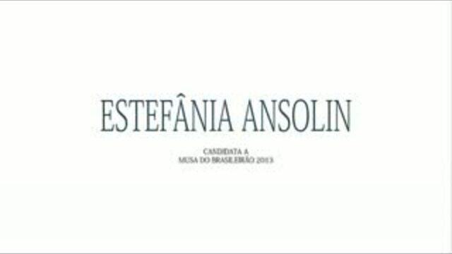 Musa do Brasileirao 2013 - Estefania Leopoldino Ansolin
