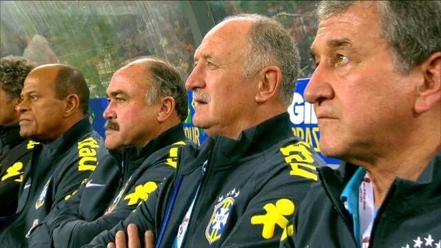 """Felipão, Murtosa e Parreira falam sobre """"casamento"""" que comandará a Seleção na Copa"""