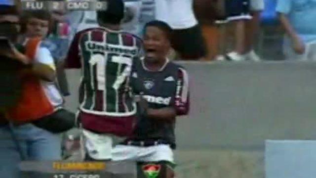 Cícero marca belo gol para o Fluminense, contra o Cardoso Moreira no Carioca de 2008