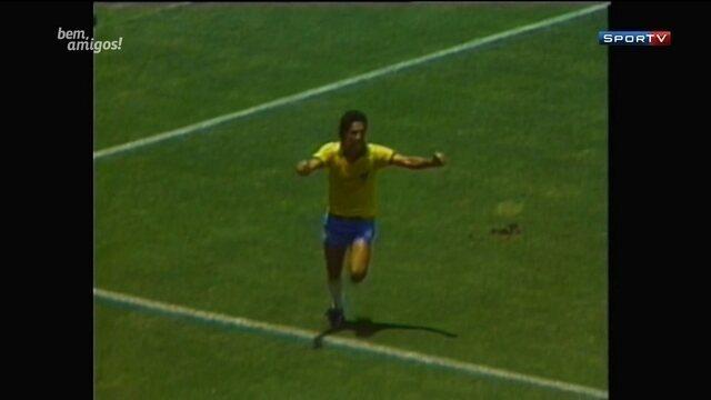 Galvão relembra narração de gol de Careca na Copa de 1986