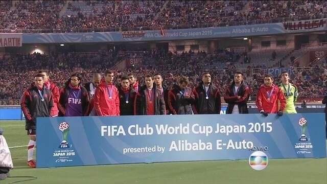 Sunfrecce e River Plate recebem premiação pela 3ª e 2ª colocação na competição