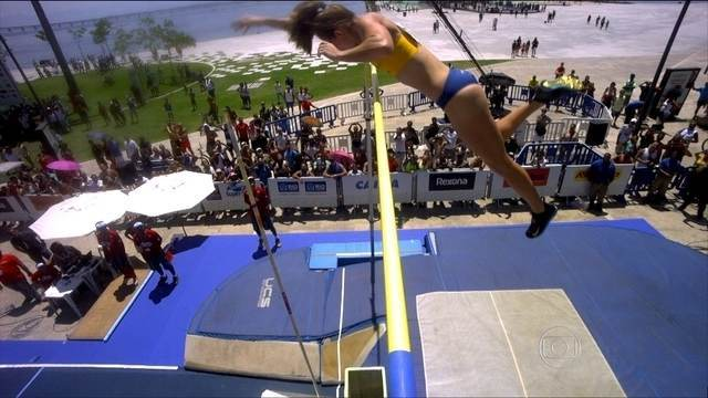Super Salto: Fabiana Murer , vence o salto com vara feminino no Rio de Janeiro