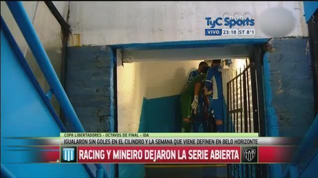 "BLOG: Goleiro do Racing, antes da partida contra o Galo, sobre os brasileiros: ""Se borram"""