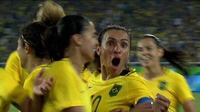 Os cinco gols mais bonitos do futebol feminino na Olimpíada Rio 2016