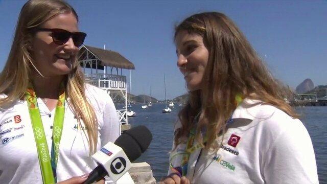 Martine Grael e Kahena Kunze ainda curtem inédito ouro olímpico feminino na vela
