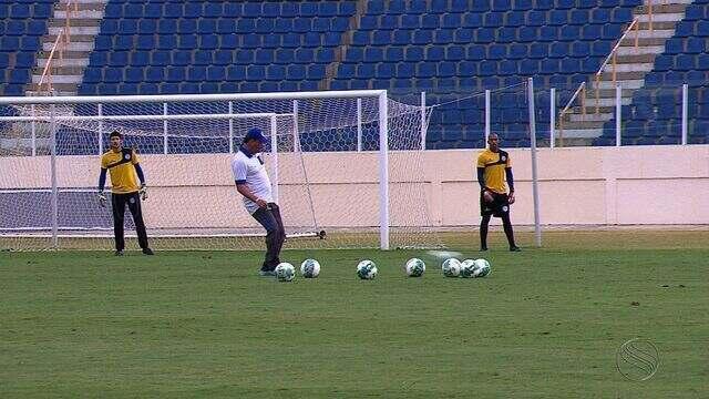 Série C: Antes de jogo decisivo contra o River, Confiança faz mais um treino fechado