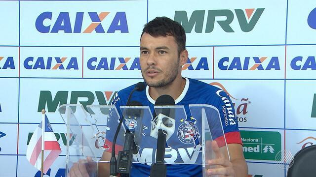 Meio-campo Renato Cajá fala sobre as expectativas para o jogo contra o Paraná
