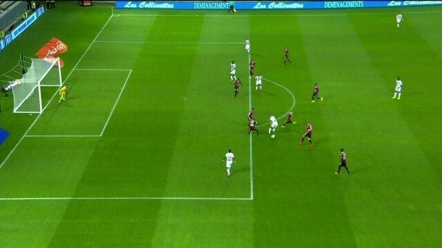 Os gols de Nice 1 x 1 Lille pela 3ª rodada do Campeonato Francês