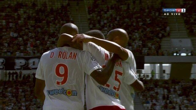 O gol de Bordeaux 1 x 0 Nantes pela terceira rodada do Campeonato Francês