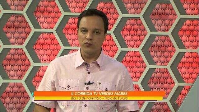 Inscrições para II Corrida TV Verdes Mares abrem em setembro