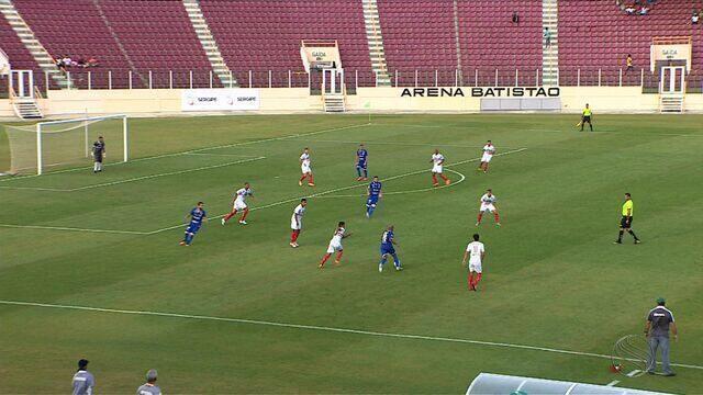 Série C: Confiança goleia River do Piauí com 2 gols de Assis