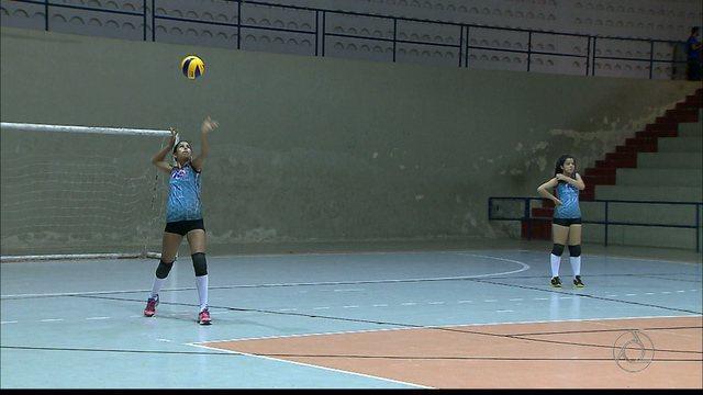 Revelação do vôlei paraibano está pronta para os Jogos Escolares da Juventude