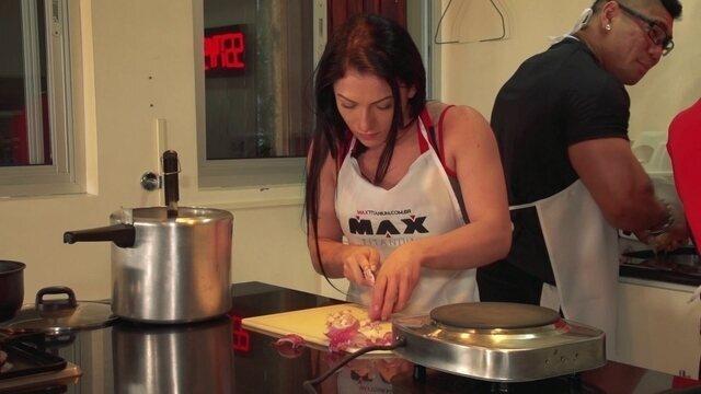 Eu Atleta: atletas elaboram pratos na Casa dos Campeões