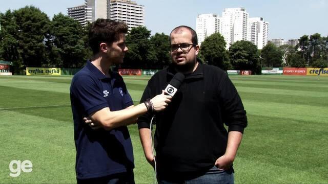 Repórteres falam sobre a discussão entre Cuca e Rafael Marques no Palmeiras