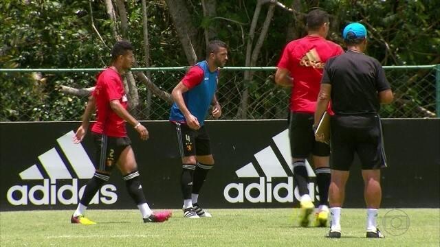 Sport se prepara para jogar em 'campo pesado' do Fluminense, neste sábado