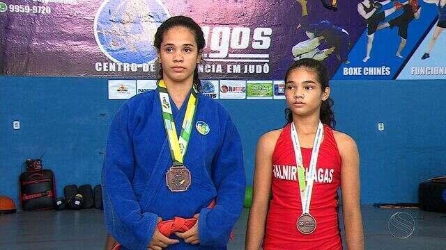 Irmãs ganham medalha de bronze