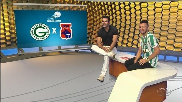 Rossi participa do Globo Esporte e analisa vitória do Goiás