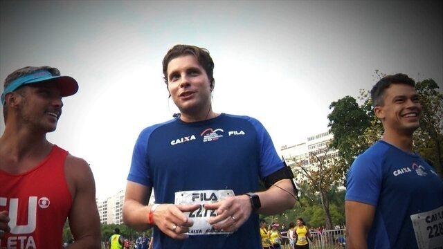 Eu Atleta: Thiago Fragoso participa da Meia Maratona Internacional do Rio de Janeiro