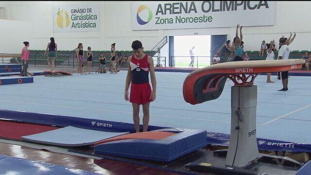 Ginasta Júlio Cesar, de 13 anos, representará o Brasil no Campeonato Sulamericano Infantil
