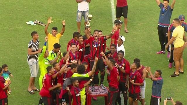 Sport vence Santa Cruz e é campeão do Campeonato Pernambucano de Sub-20