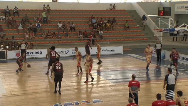 Ginásio de Cajazeiras recebe alguns dos principais times brasileiros de basquete