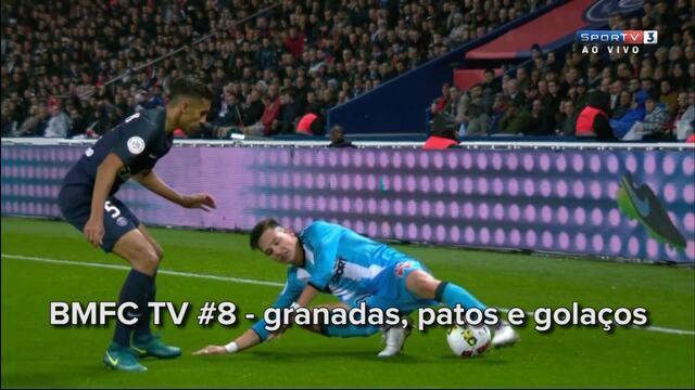 BLOG: BMFC TV #8: golaço-bomba, defesão de Diego Alves e o pior elástico da história
