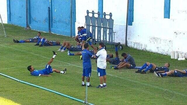 Confiança inicia os treinos físicos no Sabino Ribeiro