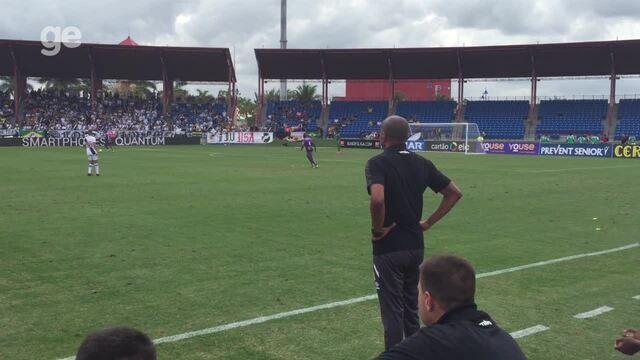 Confira as reações do técnico Cristóvão Borges na vitória do Vasco sobre o Barcelona-EQU