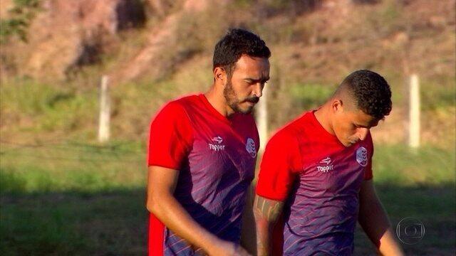 Tiago Alves prega trabalho antes de falar em títulos no Náutico