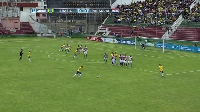 BLOG: Com Matheus Sávio e em um campo decente, seleção sub-20 melhora contra o Paraguai