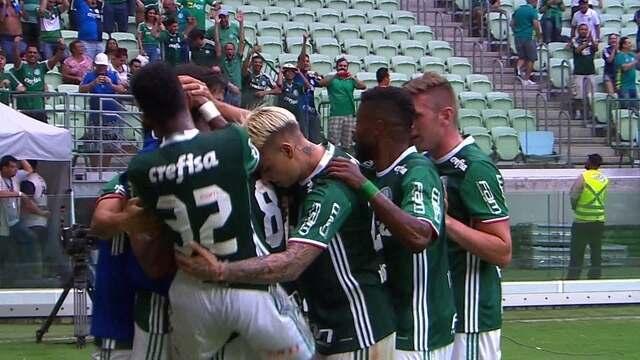 Os gols de Palmeiras 1 x 1 Ponte Preta durante jogo amistoso