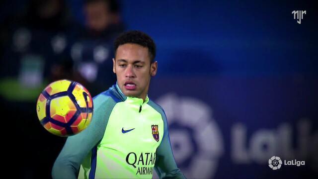 La Liga - Jornada 19 - Eibar 0 x 4 FC Barcelona