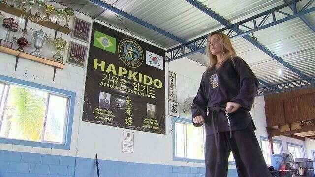 Clarissa Nóvi, um dos principais nomes do Hapkido mundial, é orgulho de Peruíbe