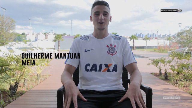 Vai, Corinthians - Bate-papo com o meia Guilherme Mantuan, capitão do time na Copinha