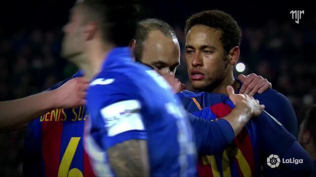 La Liga - Jornada 23 - FC Barcelona 2x1 Leganés