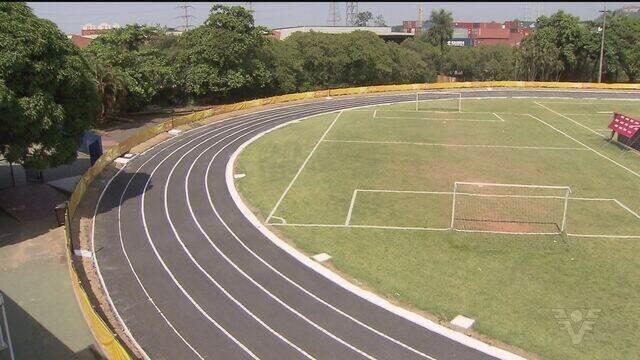 SESI de Santos reabre pista de atletismo